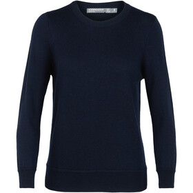 Icebreaker Muster Crewe Sweater Dam midnight navy